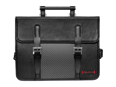 Londono Boston Carbon Fiber and Leather Business Bag