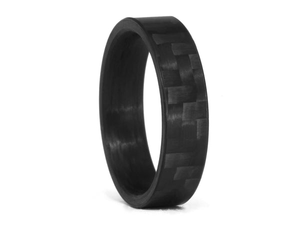 Oliver Paul Monterey Carbon Fiber Ring