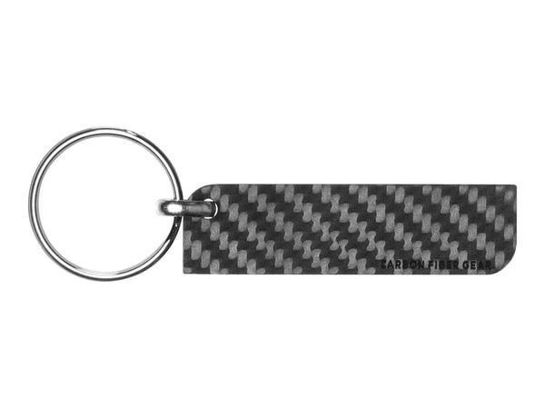 Solid Carbon Fiber Key Tag