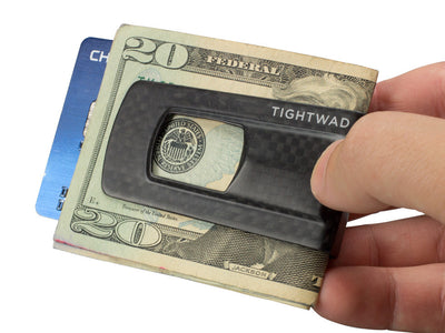 Tightwad Carbon Fiber Money Clip