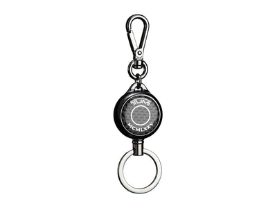 Tumi Carbon Fiber Retractable Key Fob