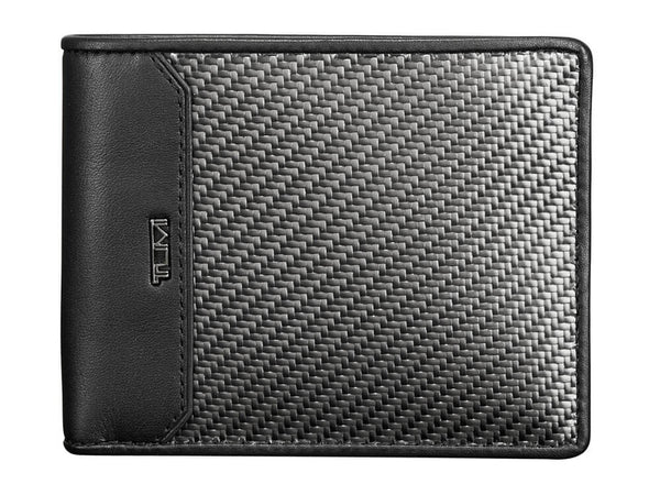 Tumi CFX carbon fiber global double billfold wallet