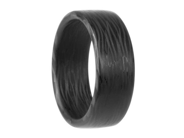 Wave Carbon Fiber Ring by Element Ring Co