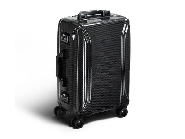Zero Halliburton carbon fiber carry one suitcase
