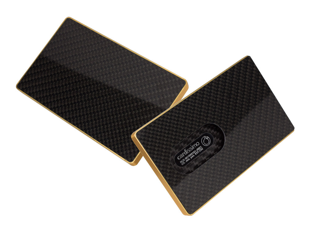 Cardissimo business card case | 5 Fun Uses for Carbon Fiber Sheets | Personal Accessories
