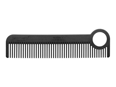 Chicago Comb Co Model No. 1 carbon fiber comb