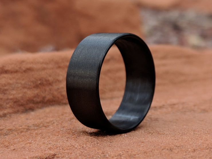 Bullet Unidirectional Carbon Fiber Ring by Element Ring Co. on hand