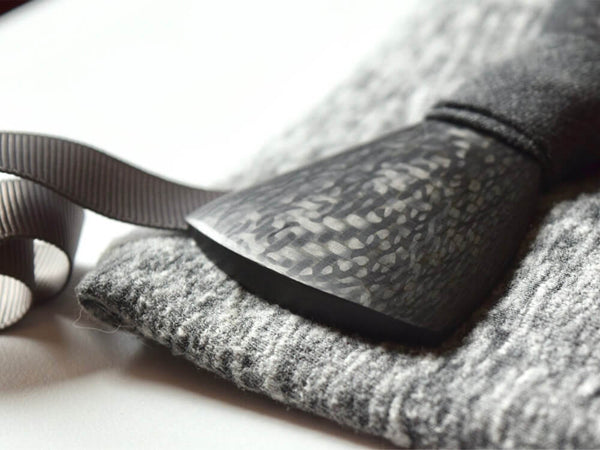 Real Carbon Fiber Bow Tie - Contour