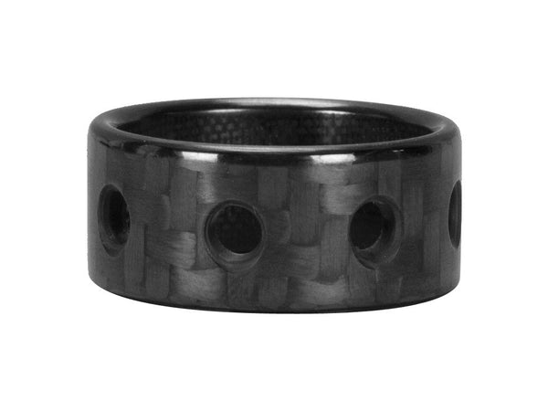 Ultra Carbon Fiber Ring - Bullet / Polished