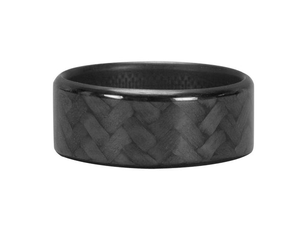 Ultra Carbon Fiber Ring - Forty Five / Polished
