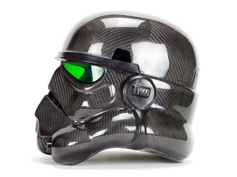 Carbon Fiber Stormtrooper Helmet - As Seen on Pawn Stars – Carbon
