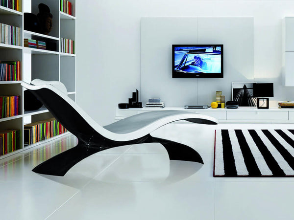 Kedo X-1 carbon fiber lounge chair - in living room