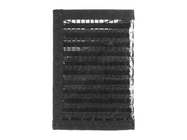 RAGGEDedge Carbon Fiber Sailcloth Card Sleeve ID, back