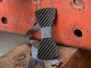 Real Carbon Fiber Bow Tie - Classic