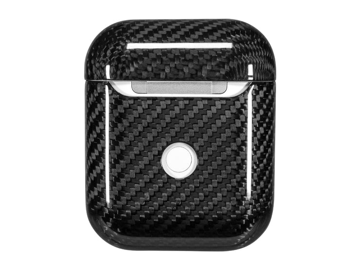 CarboShield 100% Carbon Fiber Case for Apple AirPods, back