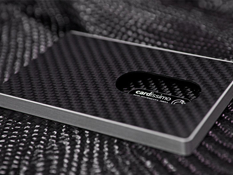 Cardissimo Carbon Fiber Business Card/Credit Card Case – Carbon ...