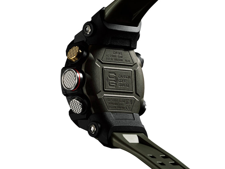 Casio G-Shock Mudmaster GG-B100-1A3 green, back