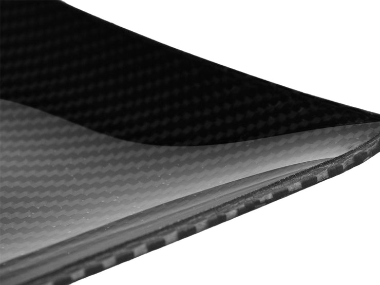 Dobreff Design carbon fiber square plate, up close
