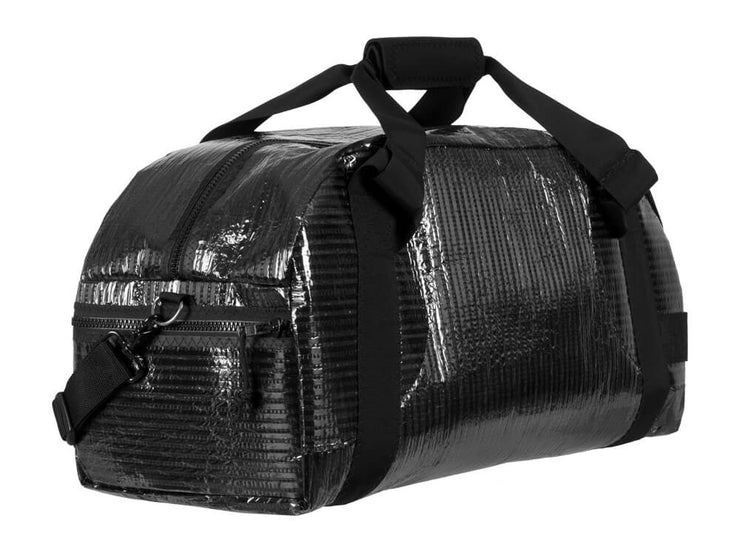RAGGEDedge Airstream Carbon Fiber Sailcloth Duffle Bag, quarter