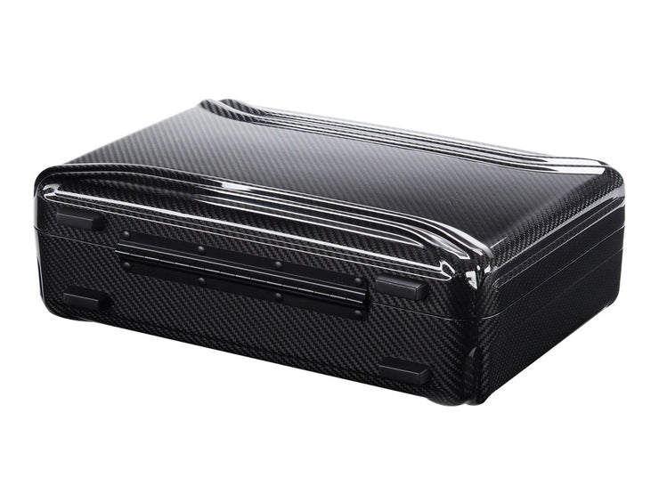 Zero Halliburton Carbon Fiber Attache Case bottom