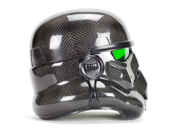 Carbon Fiber Stormtrooper Helmet - As Seen on Pawn Stars