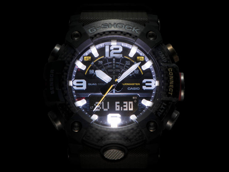 Casio G-Shock Mudmaster illuminated