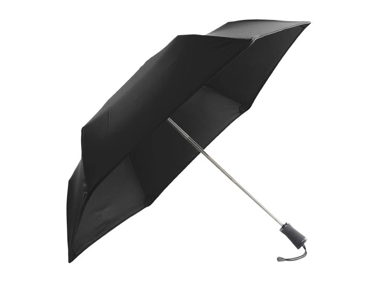 Hedgehog carbon fiber umbrella, black, open
