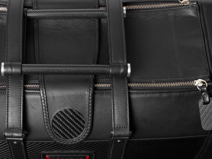 Londono Easy Travel Carbon Fiber and Leather Weekend Bag