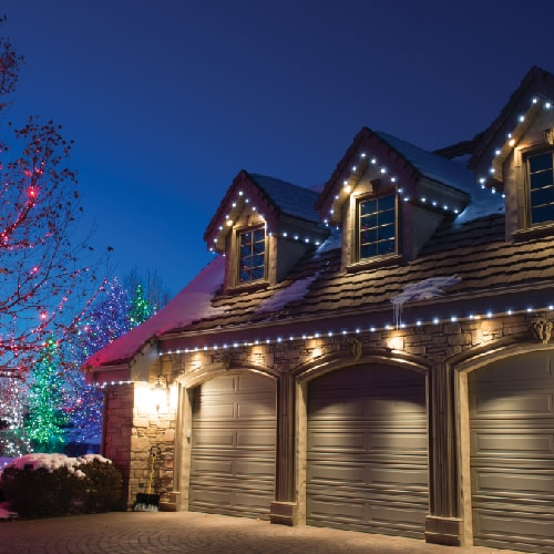 Village Lighting Lights - house lights and tree lights