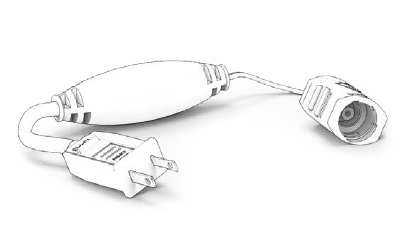 Pro Plug a/c adapter by Village Lighting Company