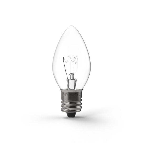 C7 (E12) Transparent Incandescent