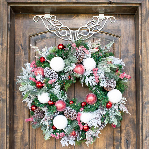 Frosted Wonderland Wreath - 30""
