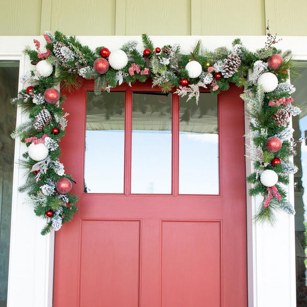 Frosted Wonderland Garland - 9'
