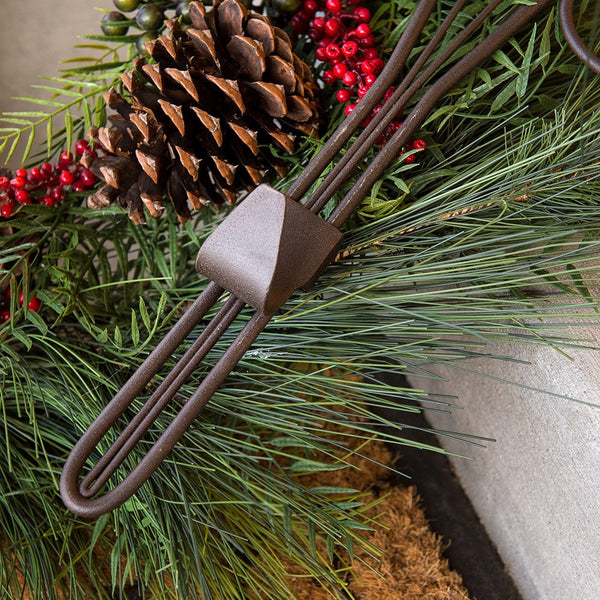 Wreath Hanger - Antler Wreath Hanger by Village Lighting Company