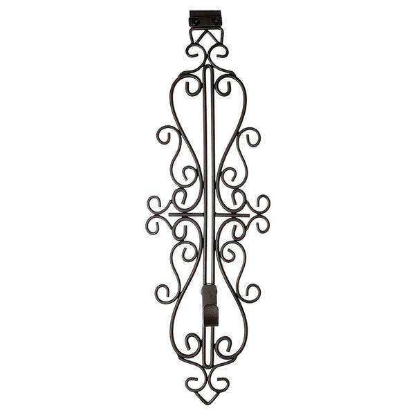 Wreath Hanger - Colonial Vertical Adjustable Hanger by Village Lighting Company