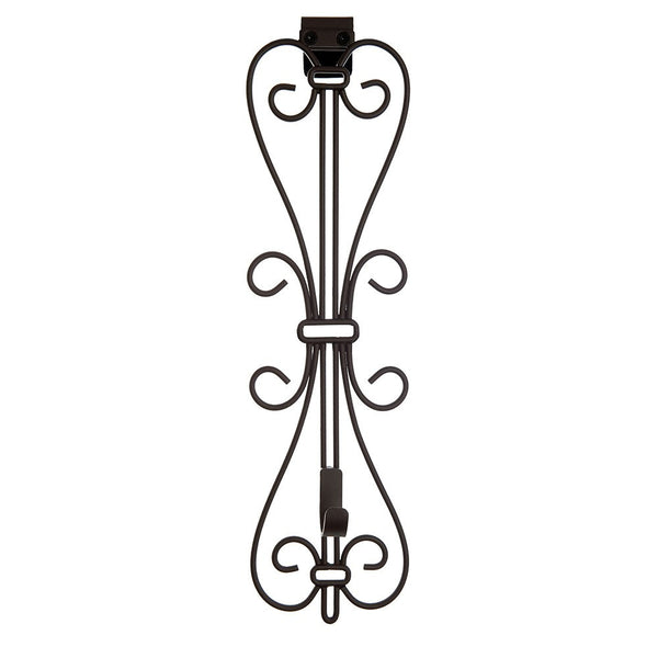 Wreath Hanger - Elegant Vertical Adjustable Hanger by Village Lighting Company