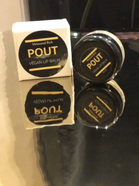 Pout-Refreshing Vegan Lip Balm