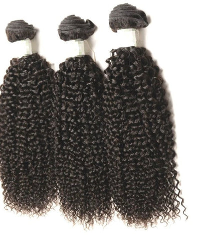 Brazilian Kinky Curly  Hair Extensions-Bundle Deal