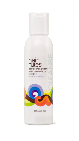 "Moisture-rich  ""No-suds""  Cleansing Cream for ALL hair textures"