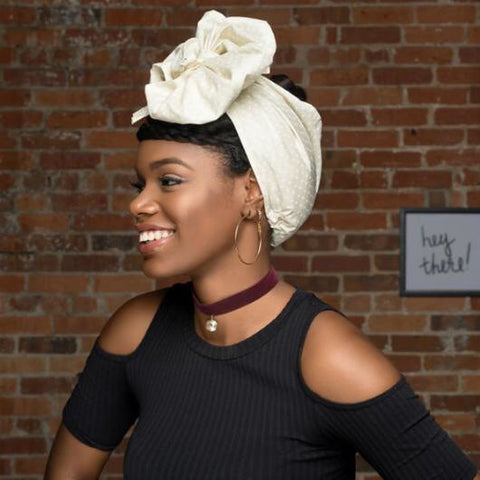 AIDA - OPEN CROWN HEAD WRAP