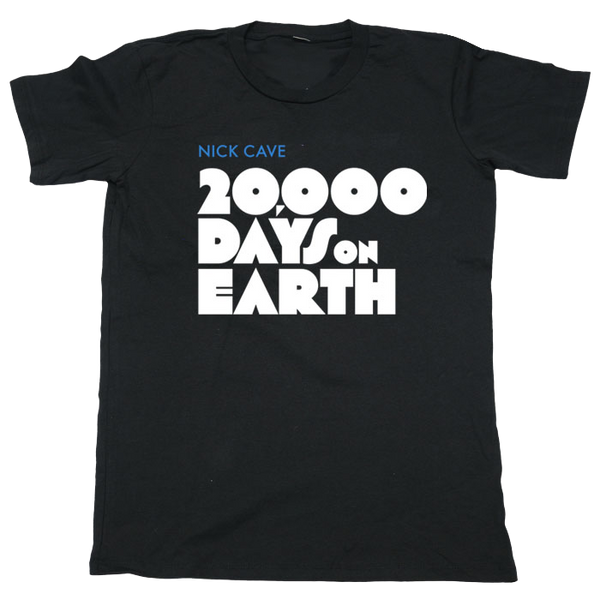 Limited Edition Black 20,000 Days On Earth T-Shirt