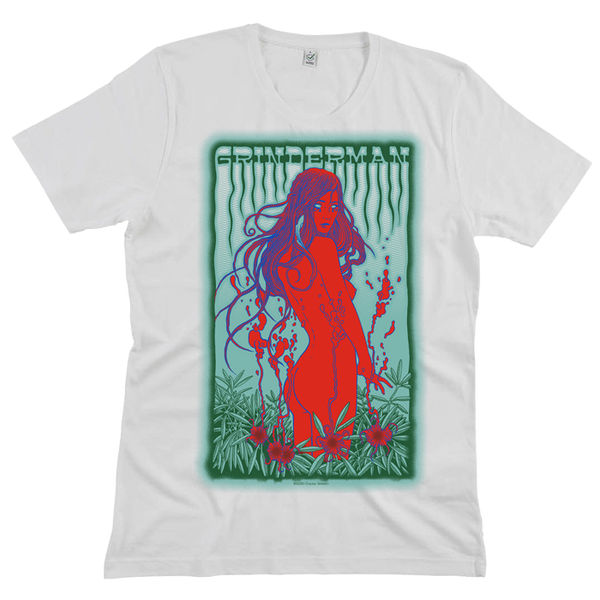 Grinderman White T-Shirt