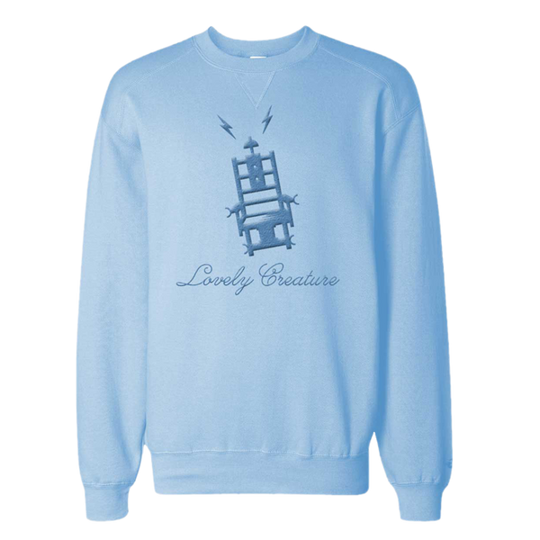 THE MERCY SEAT LIGHT BLUE SWEATSHIRT