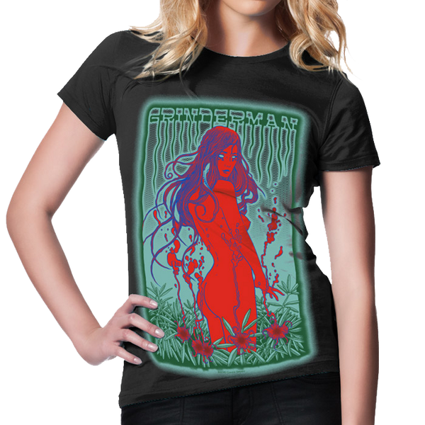 Grinderman Women's Black T-Shirt