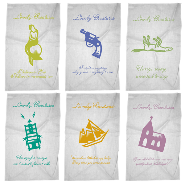 LOVELY CREATURES TEA TOWEL BUNDLE