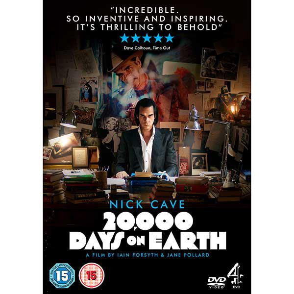 20,000 Days on Earth DVD