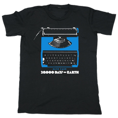 Black Typewriter UK Event T-Shirt