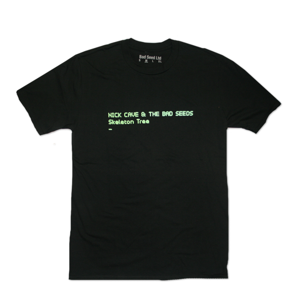 Black Skeleton Tree Album T-shirt