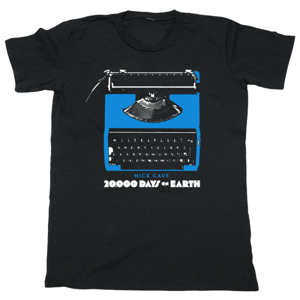 Black Typewriter NY Event T-Shirt