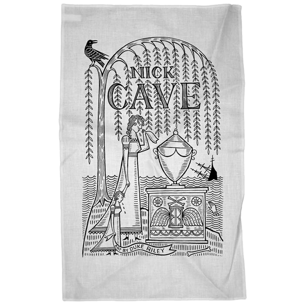 Nick Cave Lyrics Tea Towel